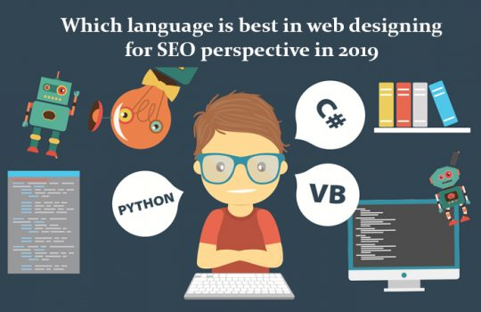 best languages in web designing for SEO perspective in 2019